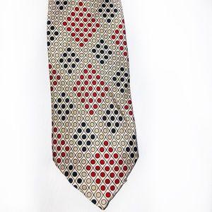 J Crew polka dot vintage style silk tie